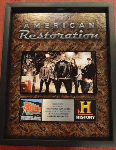 American-Restoration-Plaque