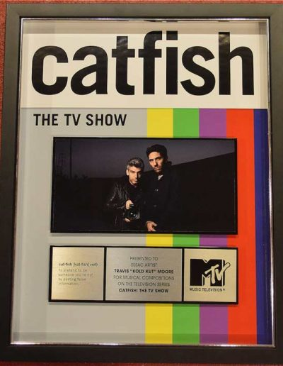 Catfish-Plaque
