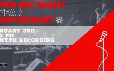 Open Mic Night 1 Year Aniversary